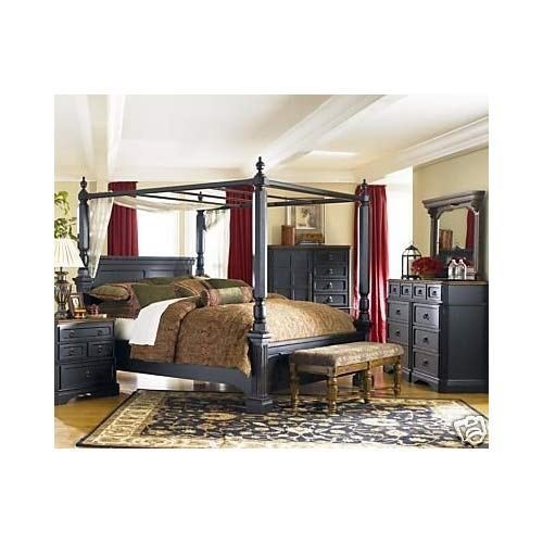 Best Amazon Com Rowley Creek Queen Bedroom Set By Ashley With Pictures