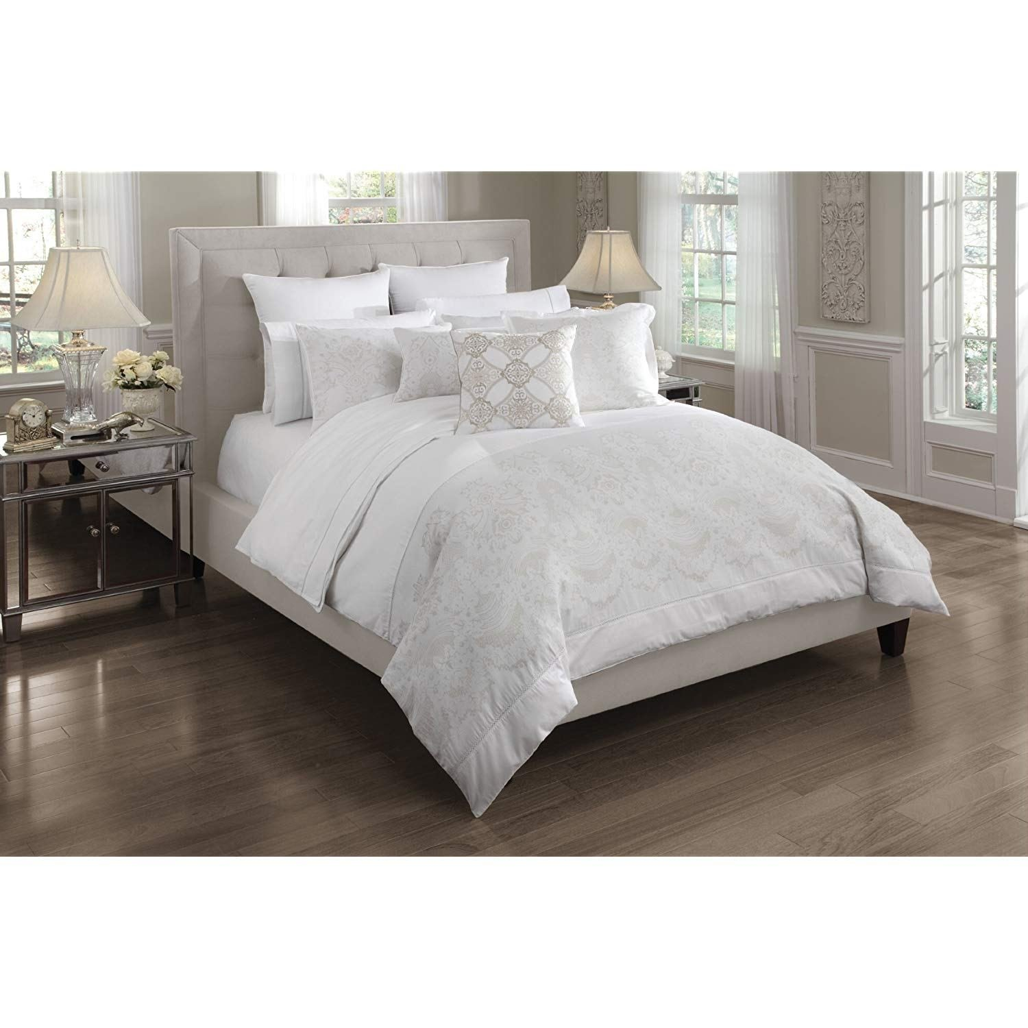 Best All White Bed Set 28 Images Bedding White Feather Down With Pictures