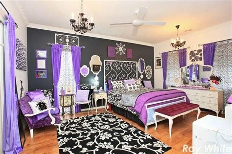 Best Black And Purple Bedroom Hooked On Houses With Pictures