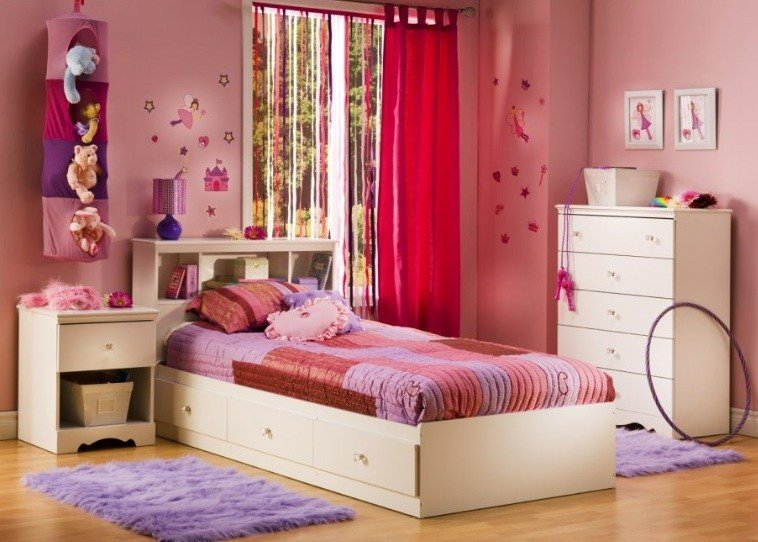 Best White Bedroom Set For Kids Home Interiors With Pictures