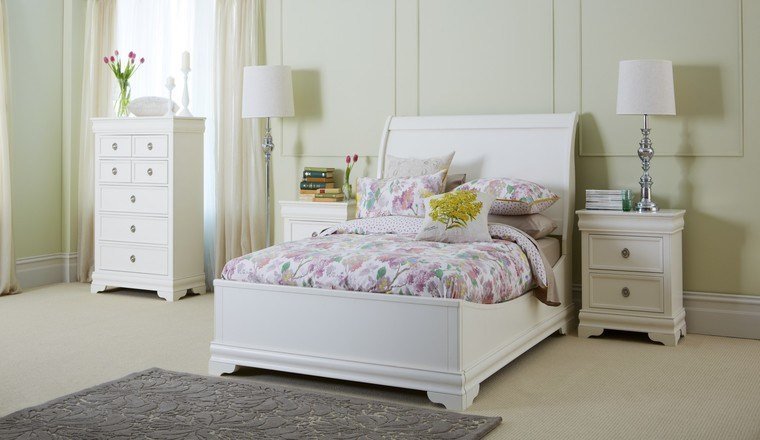 Best White Solid Wood Bedroom Furniture Set Haupterneuerung With Pictures