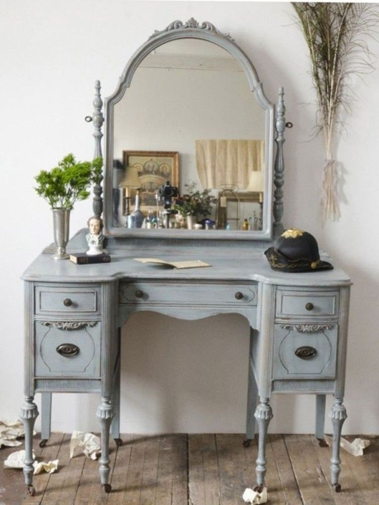 Best Antique Makeup Vanities For Bedrooms Homedcin Com With Pictures