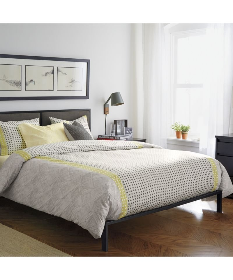Best Crate And Barrel White Bedroom Furniture Home Delightful With Pictures