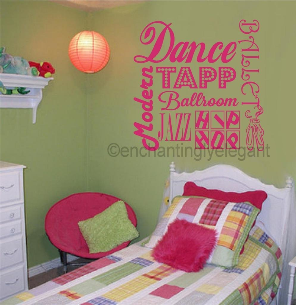 Best Dance Ballet Sports Vinyl Decal Wall Sticker Words With Pictures