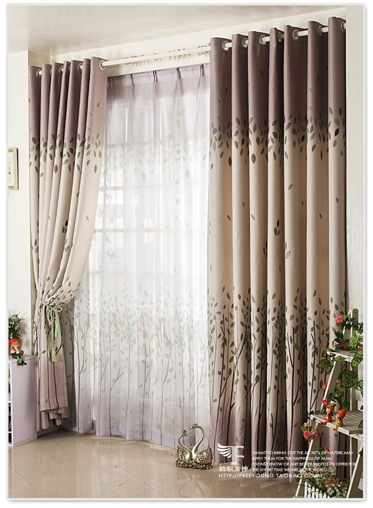 Best Country Floral The Leaves Blockout Bedroom Living Room Curtain Customizable Ebay With Pictures