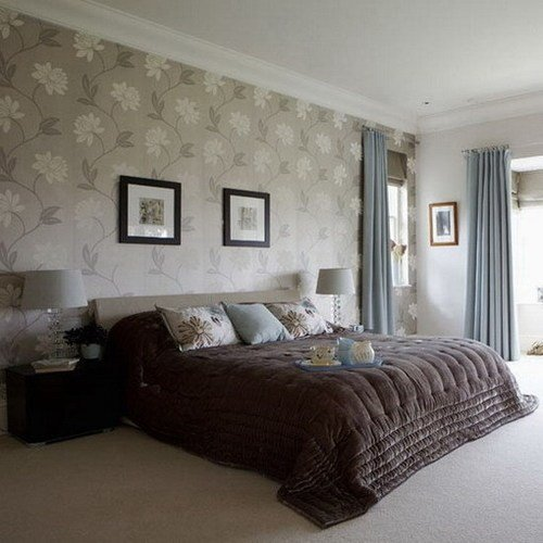 Best Bedrooms With Wallpaper And Feature Walls Silk Interiors Blog With Pictures