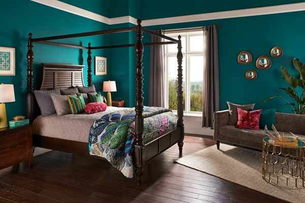Best Behr Essential Teal Top Colors For 2015 According To With Pictures