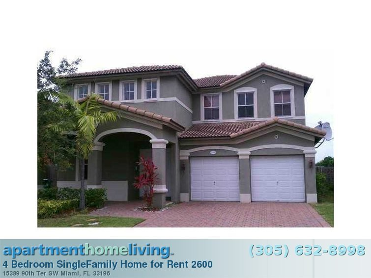 Best 4 Bedroom Miami Homes For Rent Miami Fl With Pictures