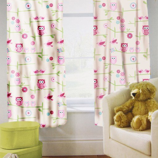 Best Childrens Nursery Bedroom Curtains Kids Junior Baby Pencil With Pictures