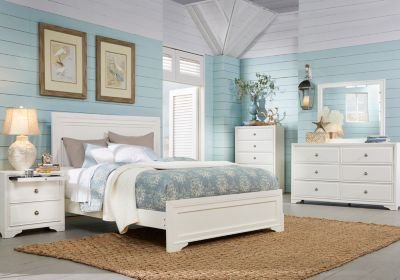 Best Belcourt White 5 Pc King Panel Bedroom King Bedroom Sets With Pictures