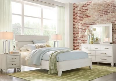 Best Crestwood Creek Off White 5 Pc Queen Panel Bedroom With Pictures