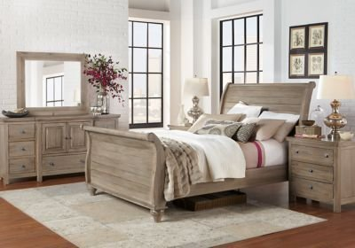 Best Summer Grove Gray 5 Pc King Sleigh Bedroom King Bedroom With Pictures
