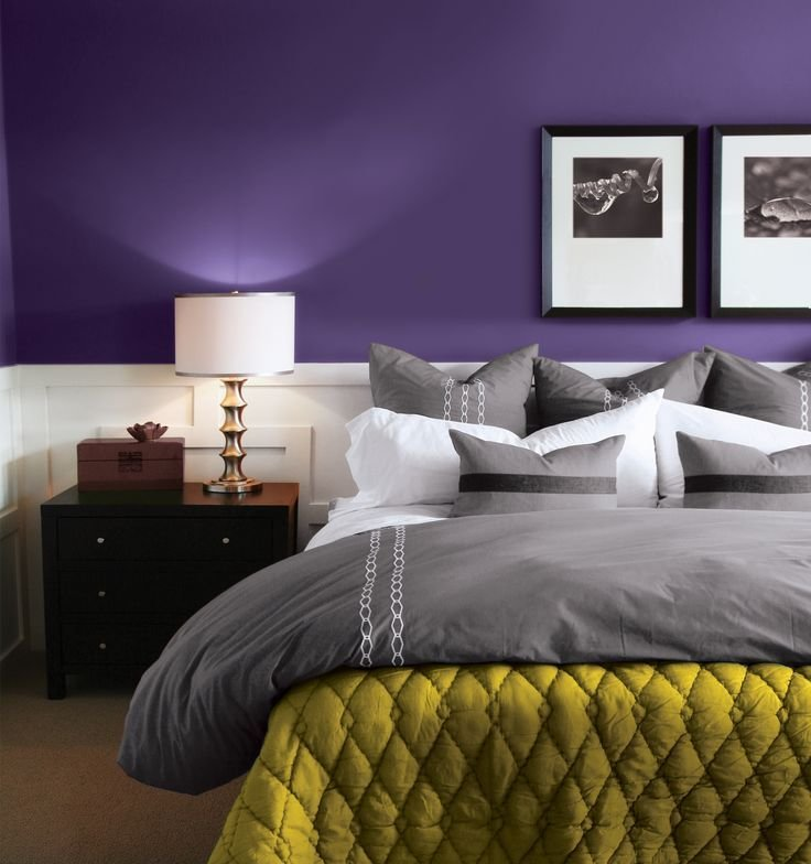 Best 31 Stylish Purple Accent Bedroom Ideas Interior G*D With Pictures
