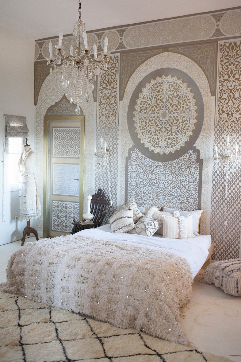 Best 40 Relaxing Moroccan Bedroom Designs Interior G*D With Pictures