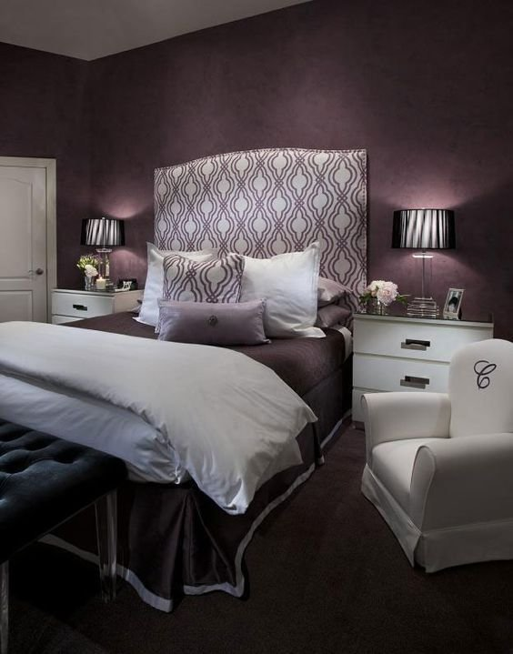 Best 21 Stunning Purple Bedroom Designs For Your Home With Pictures