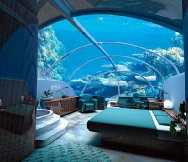 Best Luxury At Par Underwater Bedrooms With Pictures