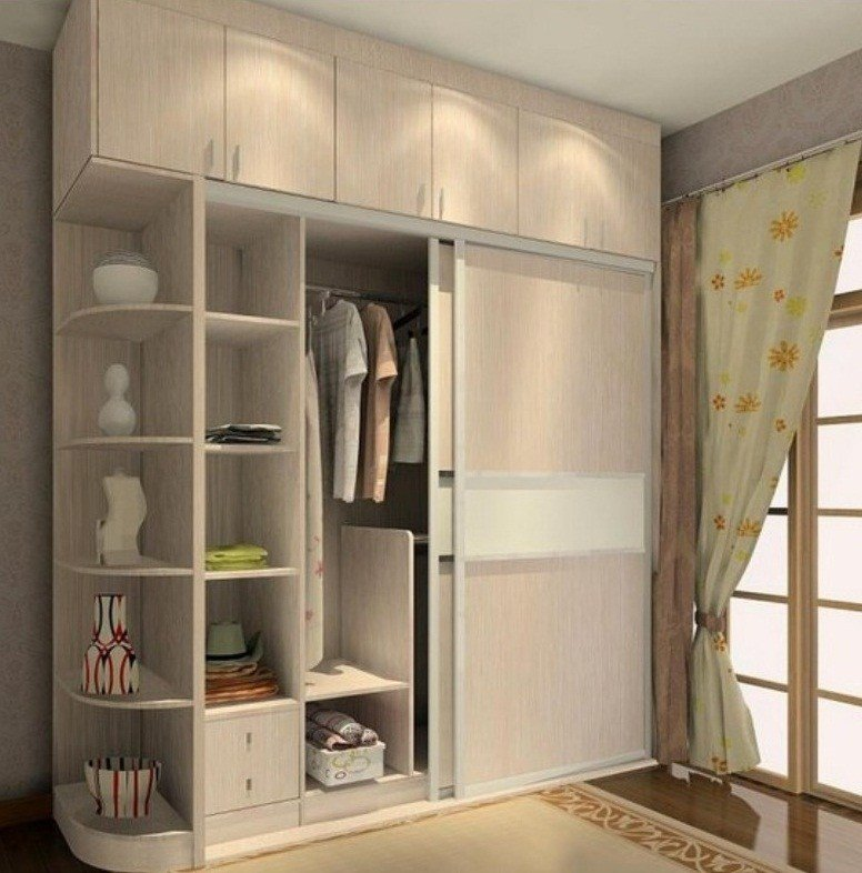Best Wardrobe Designs For Small Bedroom With Pictures
