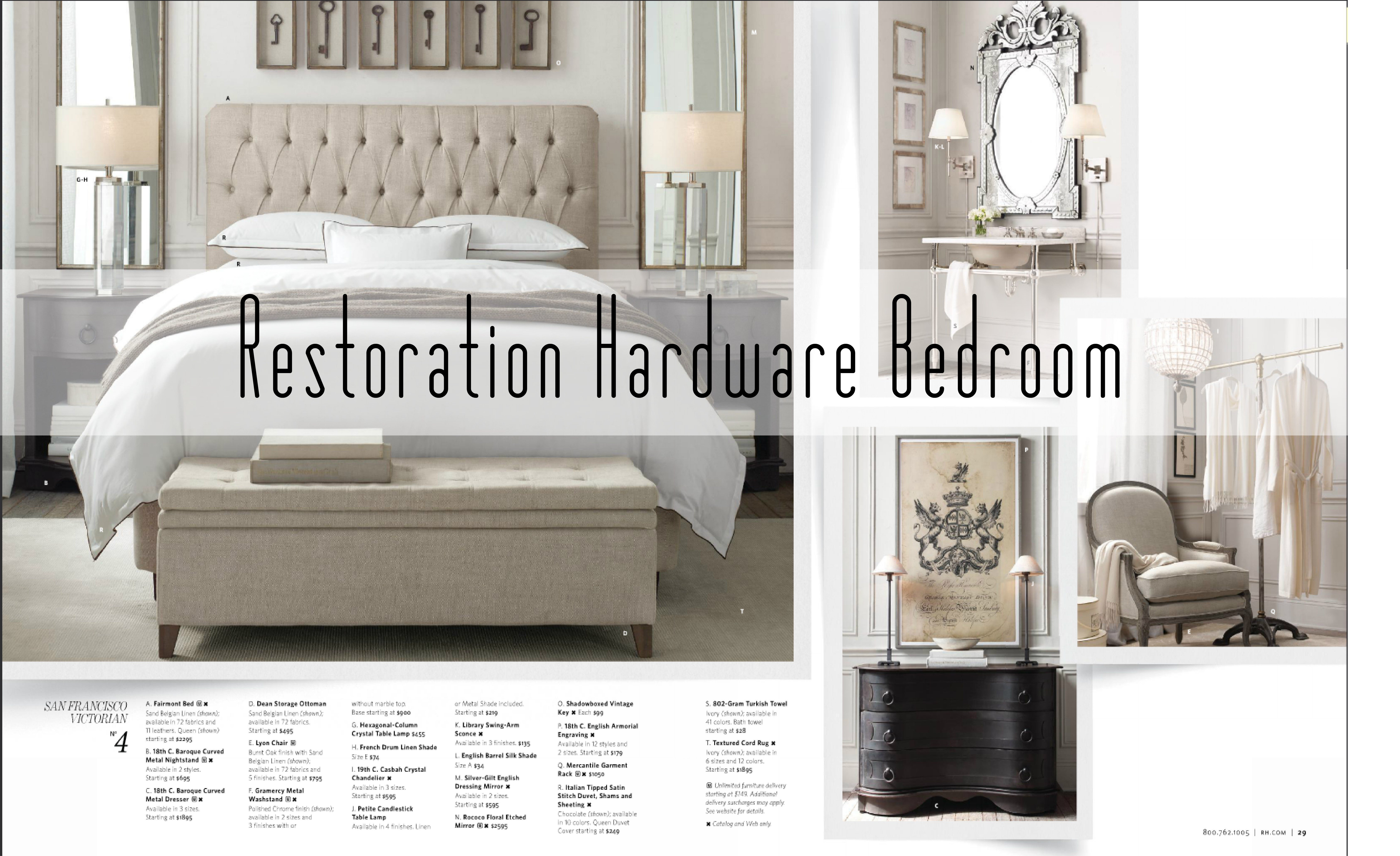 Best Get The Look For Less Restoration Hardware Bedroom With Pictures