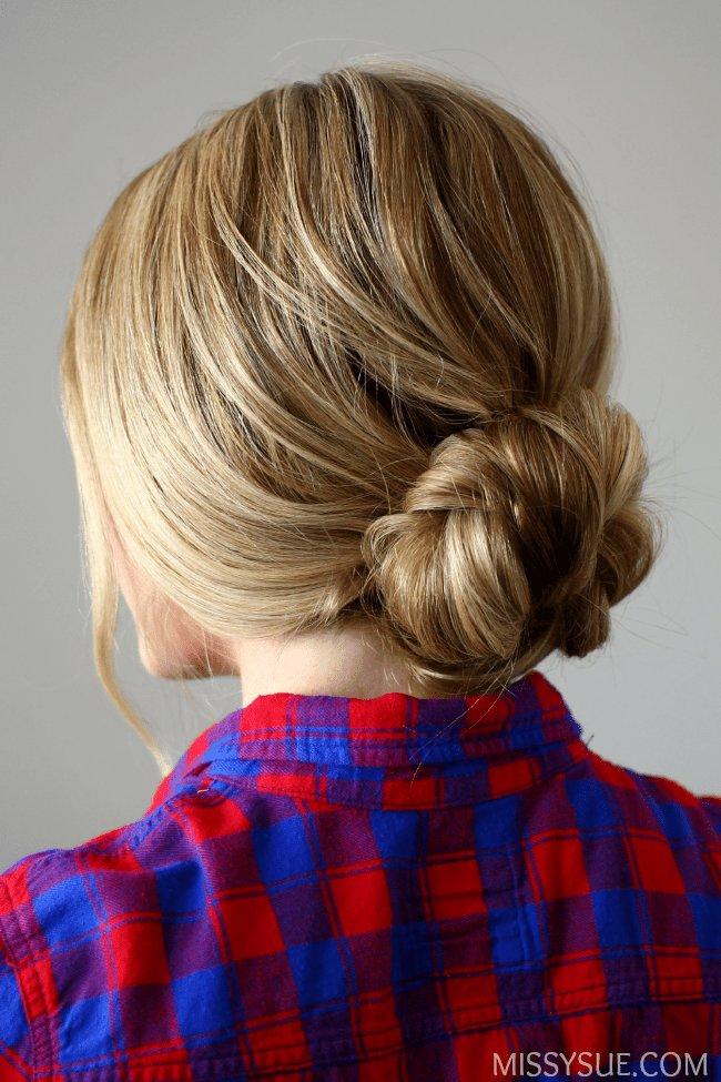 Free Quick And Easy Braided Bun Wallpaper