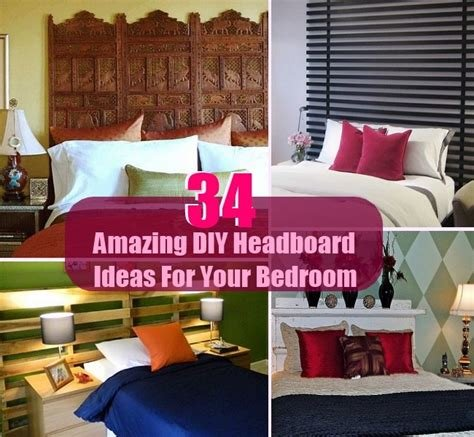 Best 34 Amazing And Cool Diy Headboard Ideas For Your Bedroom Diycozyworld Home Improvement And With Pictures