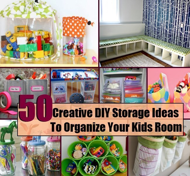 Best 50 Creative Diy Storage Ideas To Organize Your Kids Room With Pictures