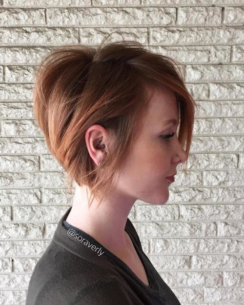 Free 50 Cute And Easy To Style Short Layered Hairstyles Wallpaper