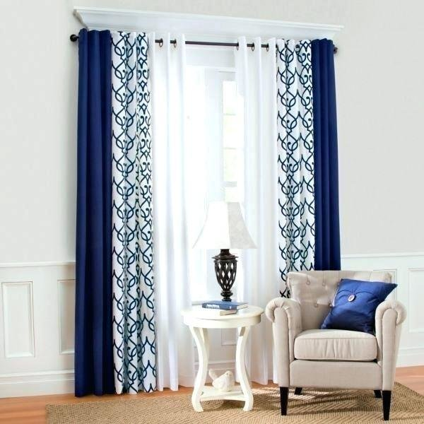 Best Royal Blue Blackout Curtains Medium Size Of Decoration Velvet Bedroom And With Valance Drapes With Pictures