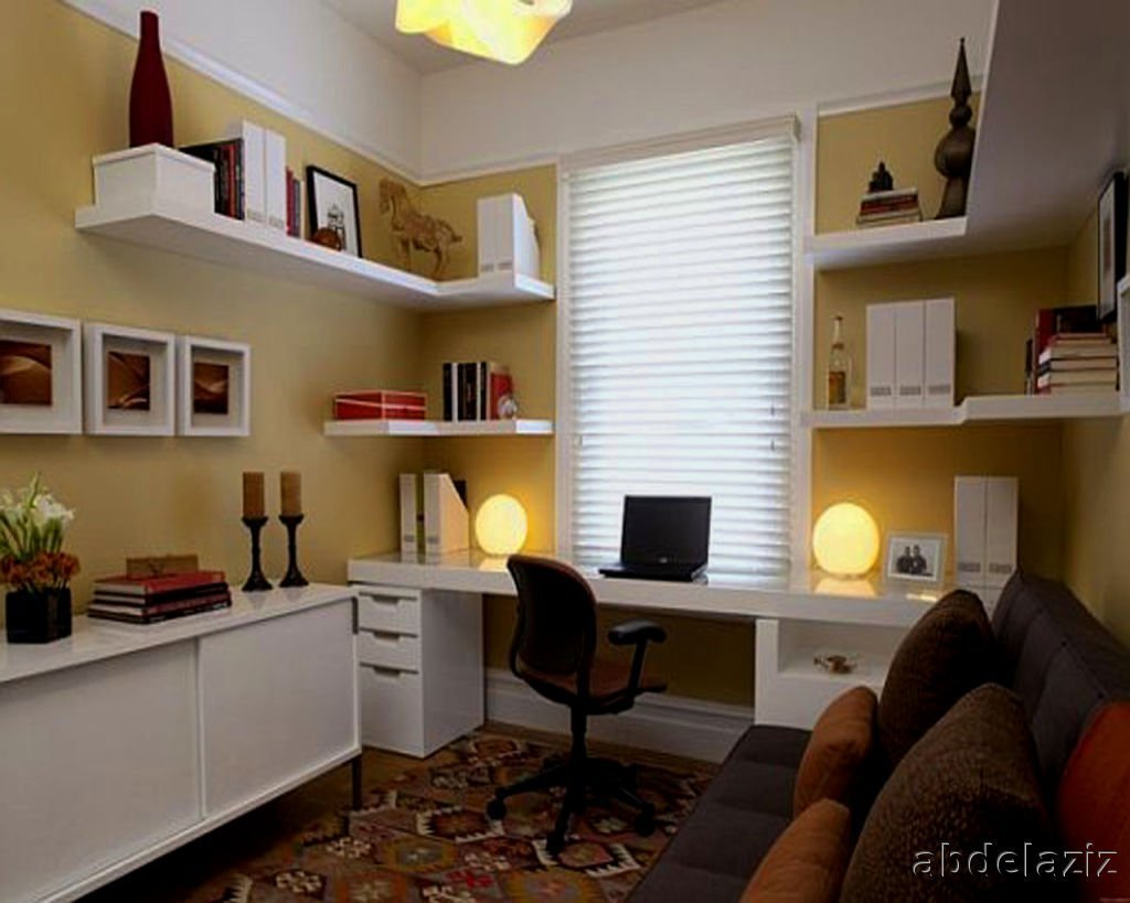 Best Home Office Bedroom Decorating Ideas Small Work Work With Pictures