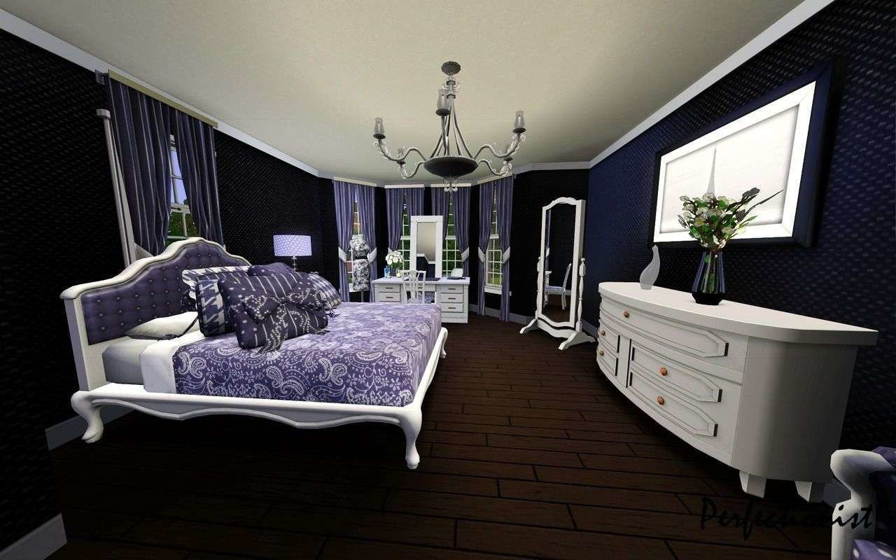 Best Check Out The Designs Of The White Black And Purple Bedrooms With Pictures