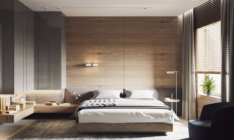 Best Master Bedrooms With Striking Wood Panel Designs – Master Bedroom Ideas With Pictures