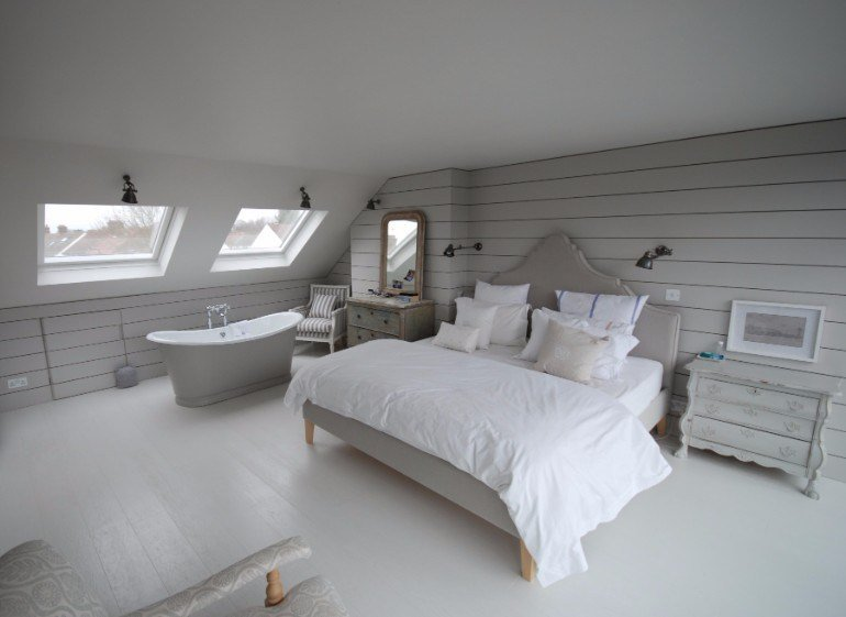 Best Loft Interiors With Marvelous Bedrooms – Master Bedroom Ideas With Pictures