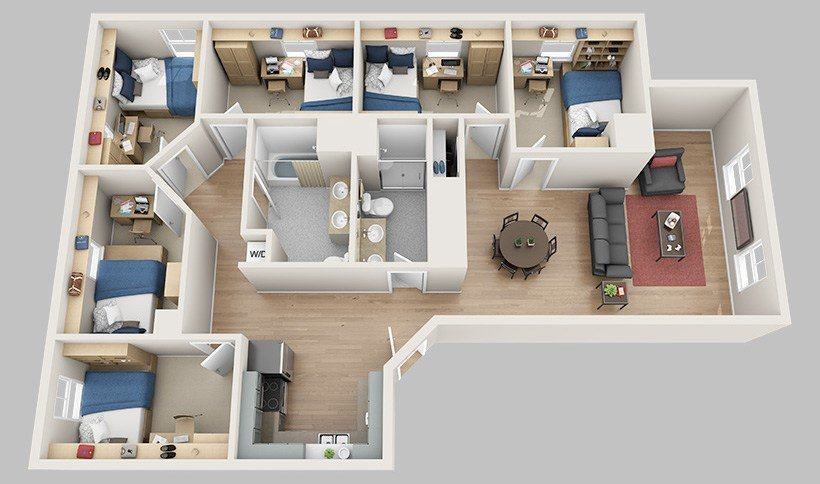 Best Floor Plans – Madbury Commons With Pictures