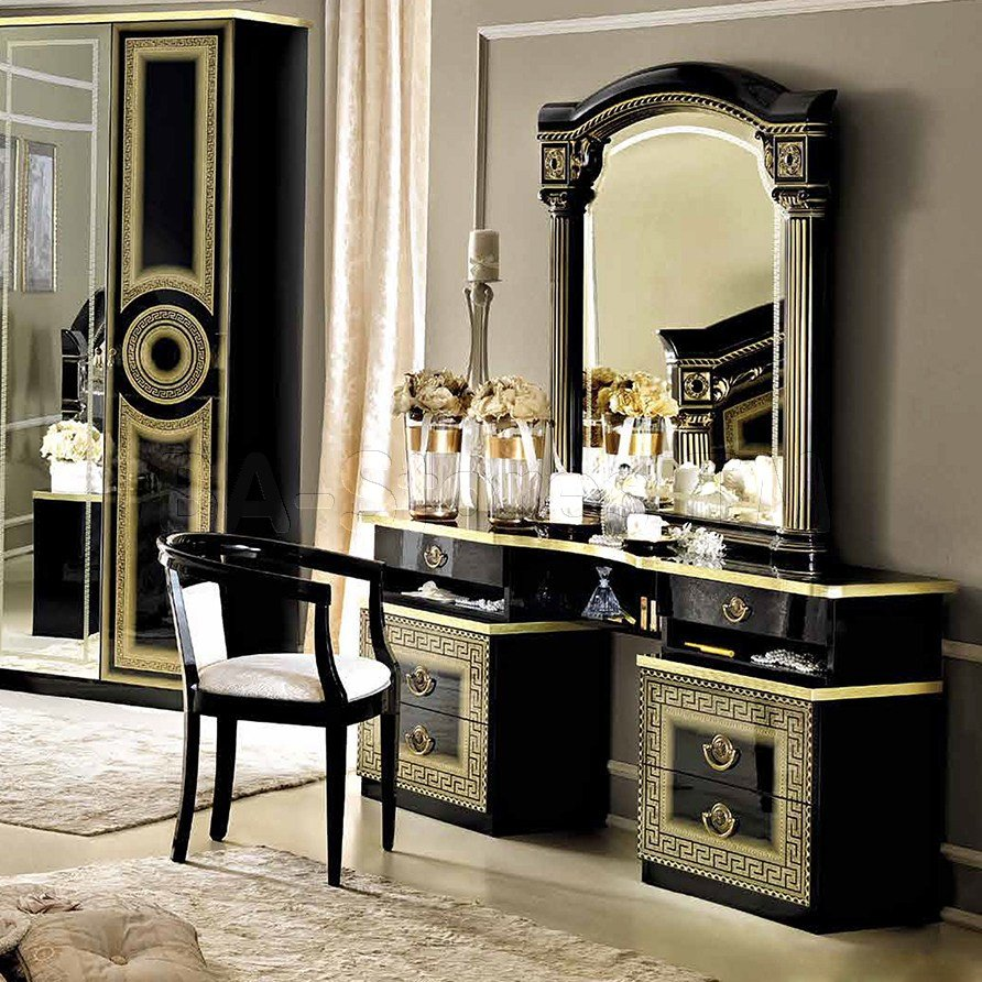 Best Gold Mirrored Bedroom Furniture Video And Photos With Pictures