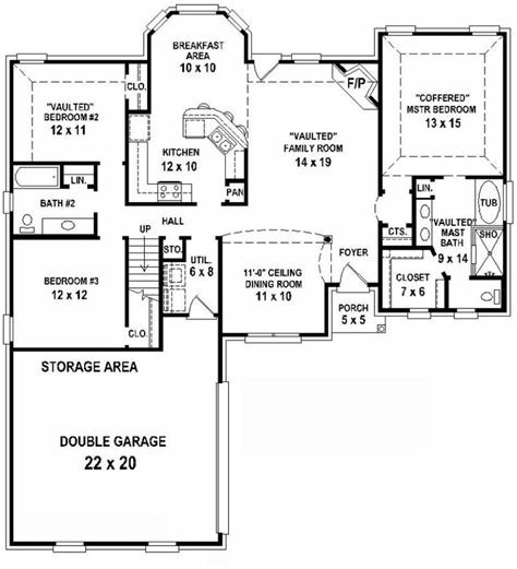 Best 3 Bedroom 2 Bath Floor Plans Marceladick Com With Pictures