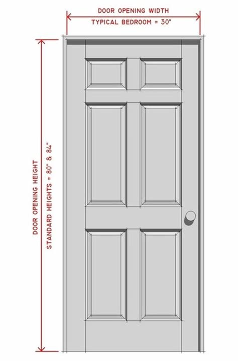 Best Bedroom Door Size Marceladick Com With Pictures