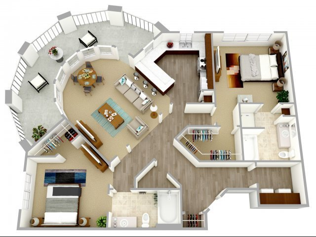 Best 2 Bed 2 Bath Apartment In Columbia Sc Nexus At Sandhill With Pictures