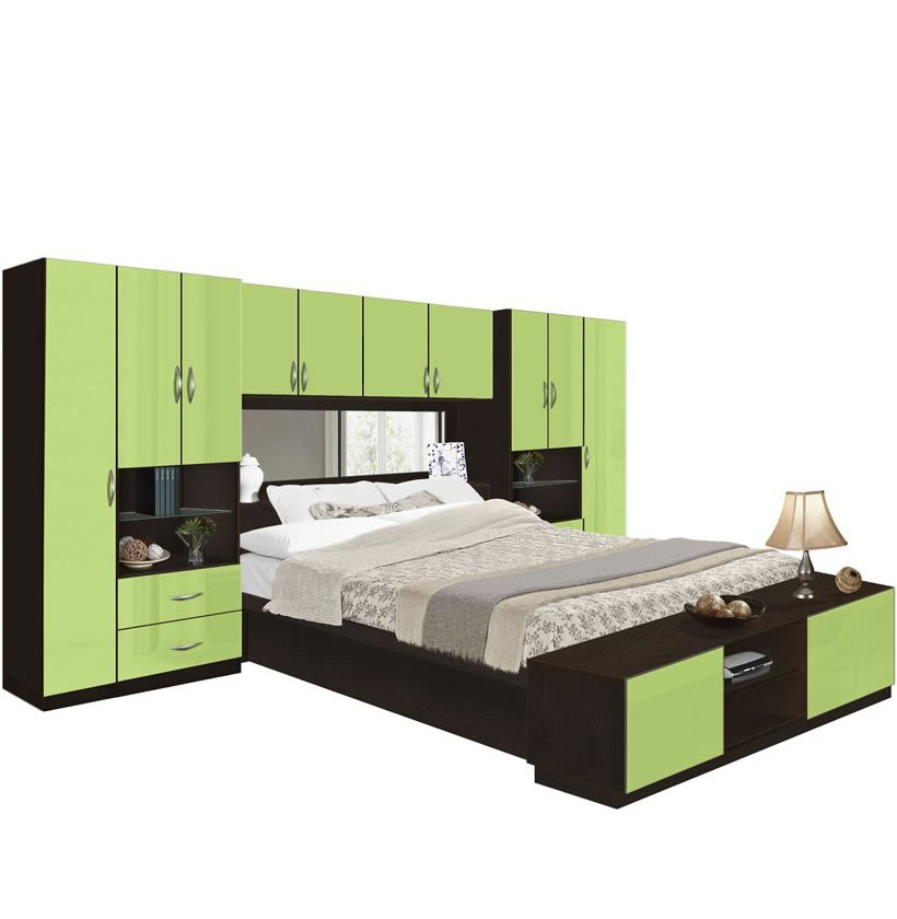 Best Lincoln Pier Wall Bedroom With Storage Cabinets Contempo With Pictures