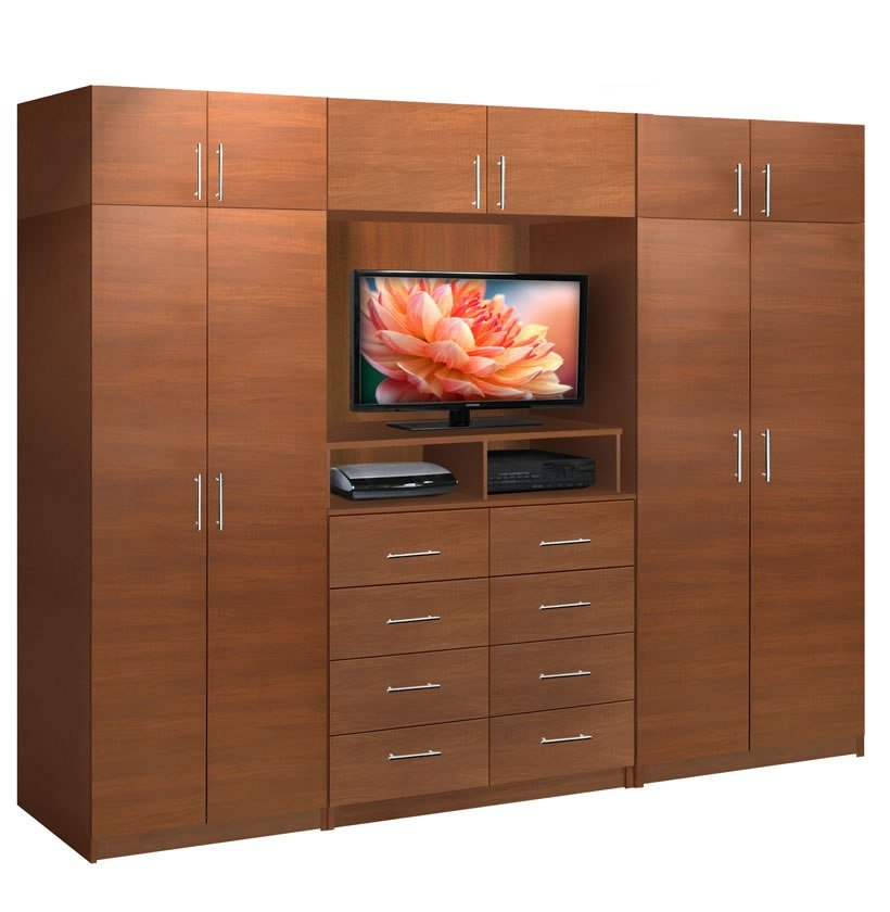 Best Aventa Tv Wall Unit X Tall 10 Door Wall Unit For With Pictures