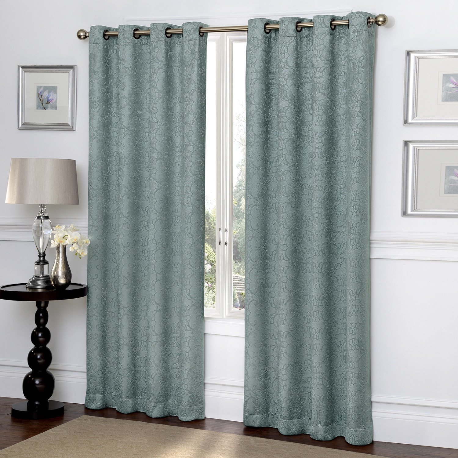 Best Ironwork Blackout Curtain 84 X 50 With Pictures
