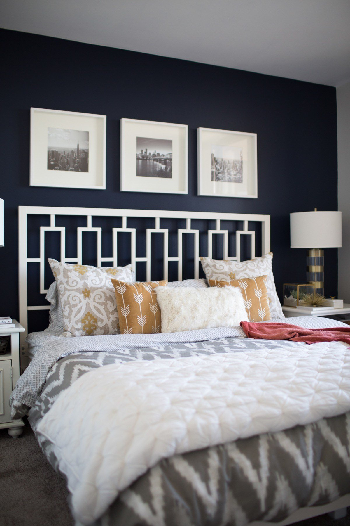Best The Best Navy Bedroom Wall Idea With Pictures