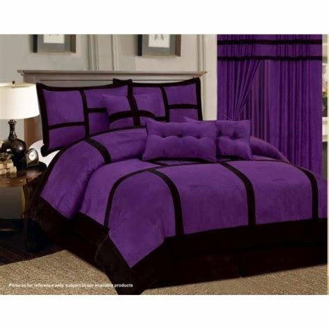 Best Amazon Com Madison Park Hampton King Size Bed Comforter Set In With Purple Bedroom Decorations 7 With Pictures