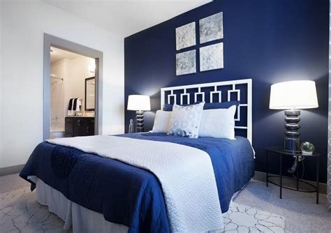 Best Navy Blue And White Bedrooms Regarding Bedroom Decorations With Pictures