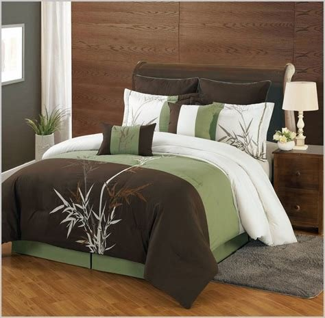 Best Details About New Bedding Sage Green Brown White Hampton With Pictures