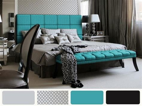 Best Grey And Turquoise Bedroom Nisartmacka Com With Pictures