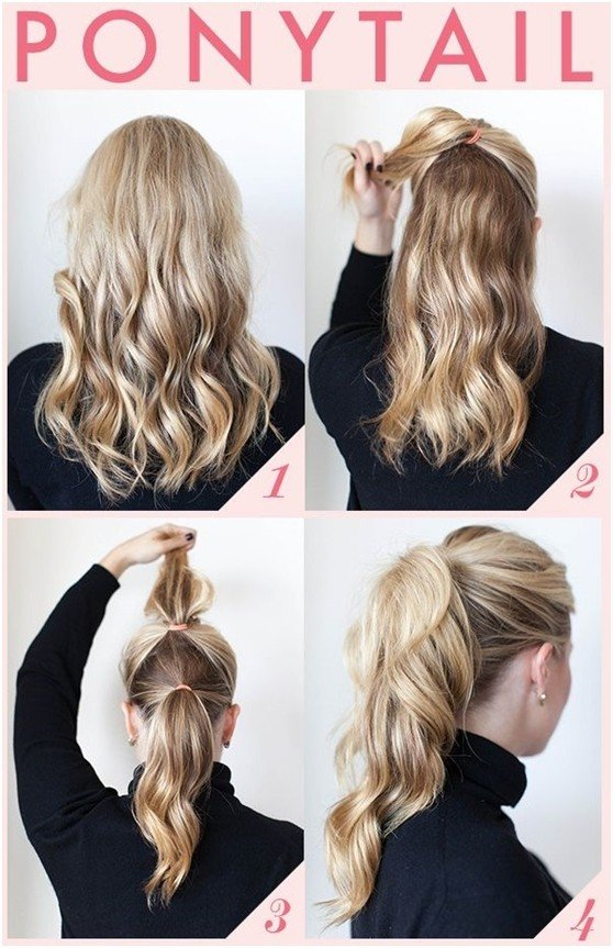 Free 15 Cute And Easy Ponytail Hairstyles Tutorials Popular Wallpaper