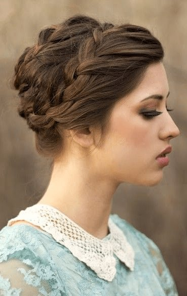 Free 18 Quick And Simple Updo Hairstyles For Medium Hair Wallpaper