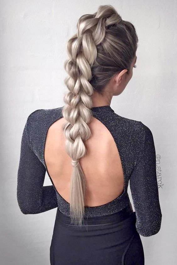 Free 10 Easy Stylish Braided Hairstyles For Long Hair 2019 Wallpaper