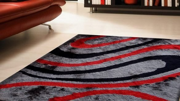 Best New Bedroom Red Black And Gray Area Rugs Pertaining To With Pictures