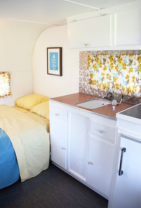 Best Homes On Wheels 5 Travel Trailer Makeovers We Love With Pictures