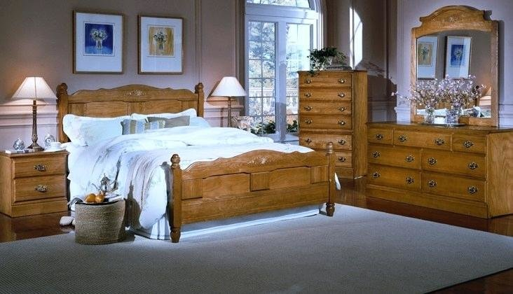 Best Oak Bedroom Sets Wood Set Modern Furniture Quality Beds With Pictures